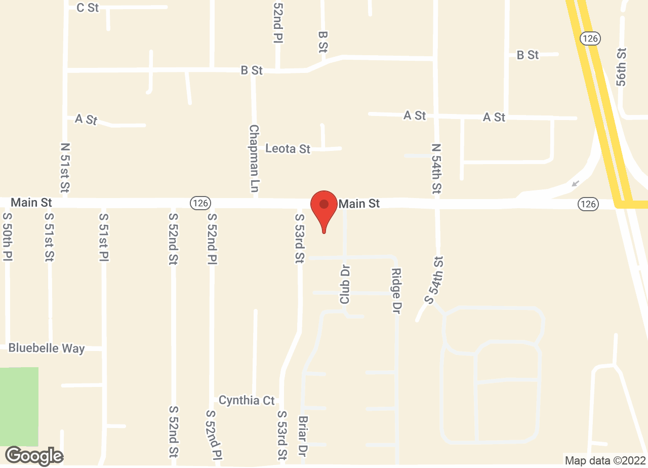 Google Map of VCA McKenzie Animal Hospital