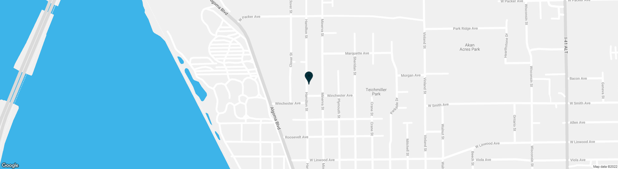 2362 HAMILTON Street Oshkosh WI 54901-1713