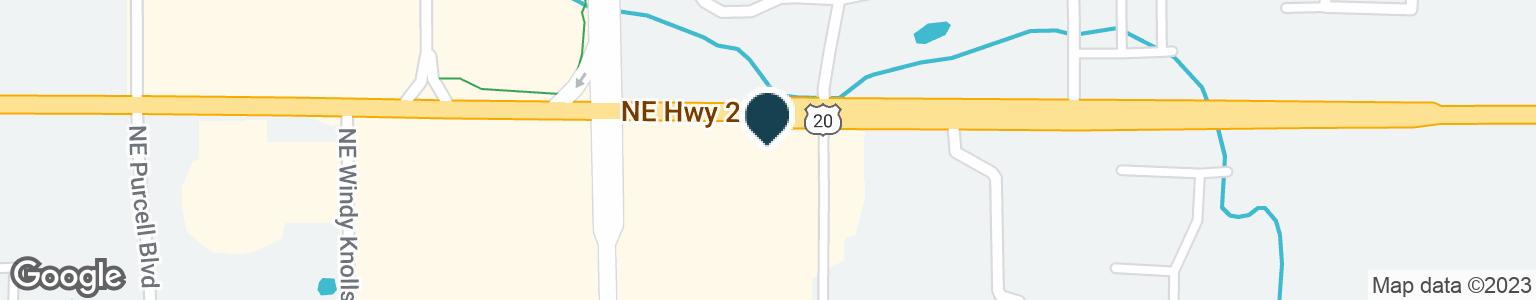 Google Map of2727 NE HIGHWAY 20