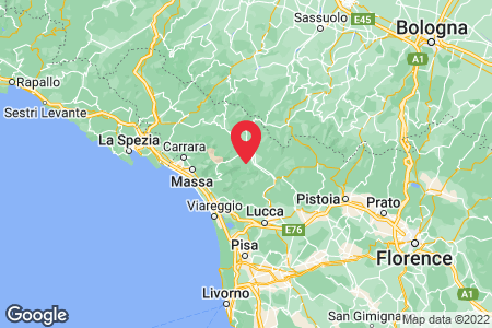 Map for 44.054844,10.407731