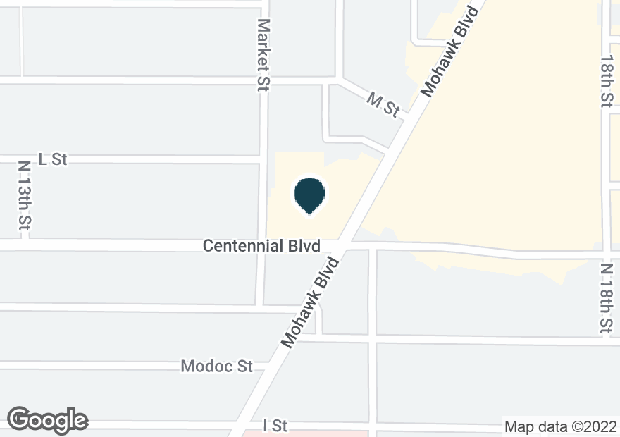 Google Map of1210 MOHAWK BLVD