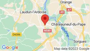 Carte de localisation du centre de contrôle technique SAINT LAURENT DES ARBRES
