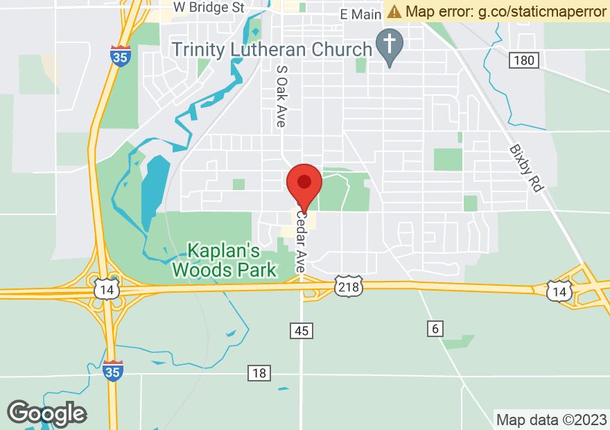 Google Map of 125 18TH ST SE