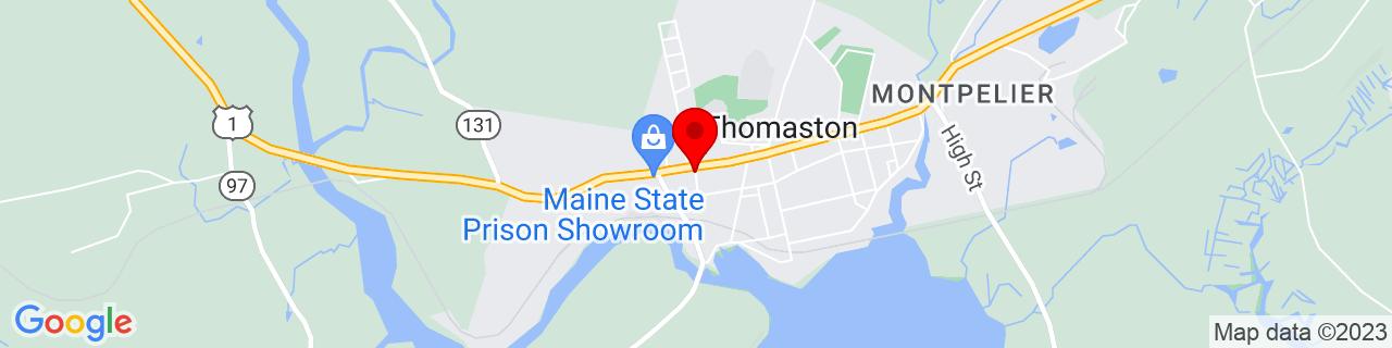 Google Map of 44.0777784, -69.1883399