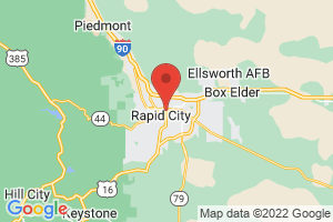 Map of Rapid City
