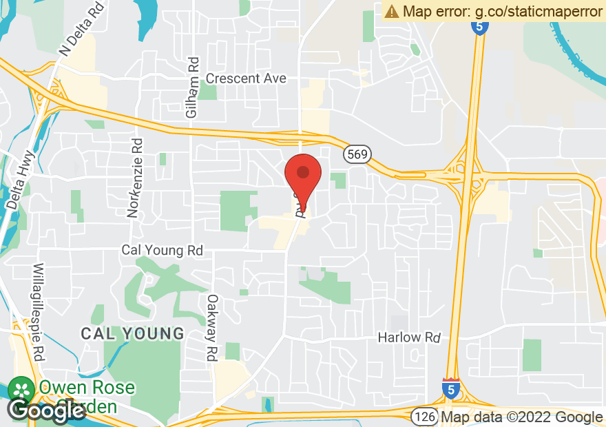 Google Map of 1675 COBURG RD