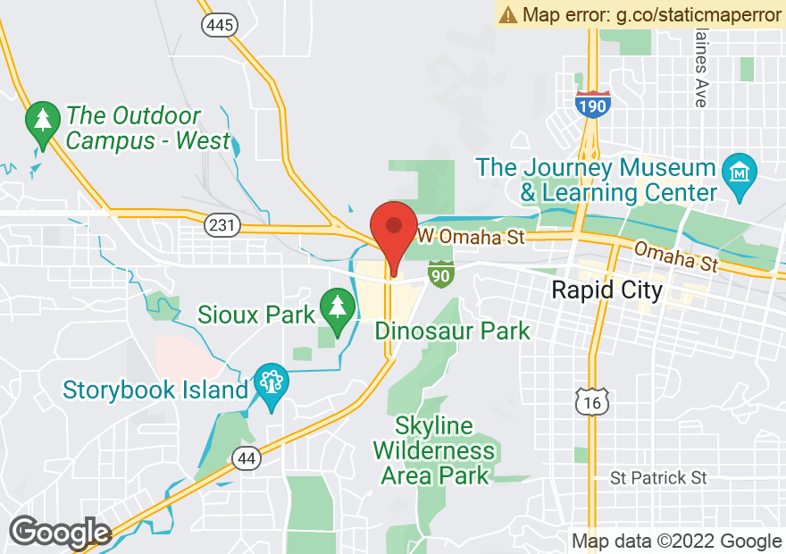 Google Map of 540 MOUNTAIN VIEW RD