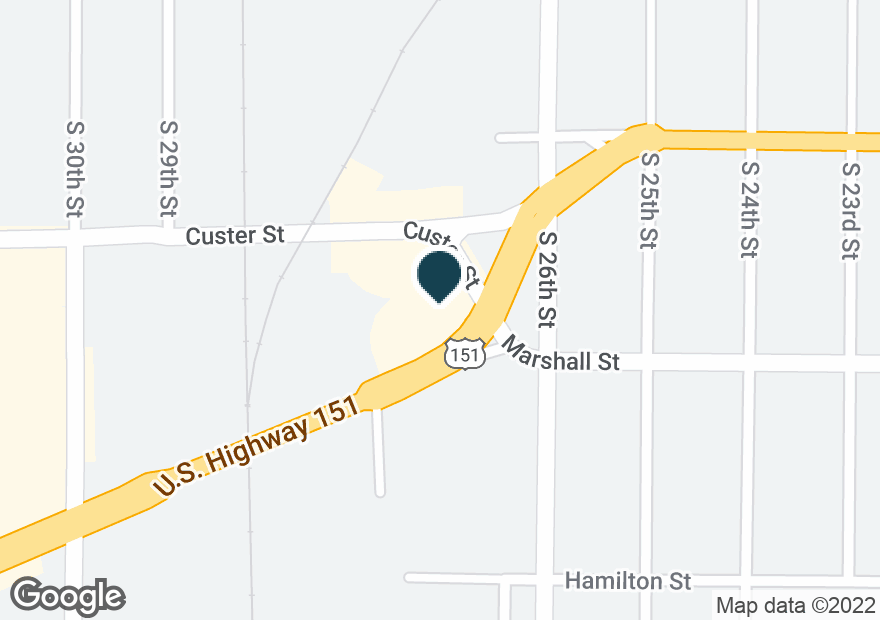 Google Map of2702 CALUMET AVE