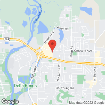 Map of Gurpreet K Gill, DMD at 2703 Delta Oaks Drive, Eugene, OR 97408