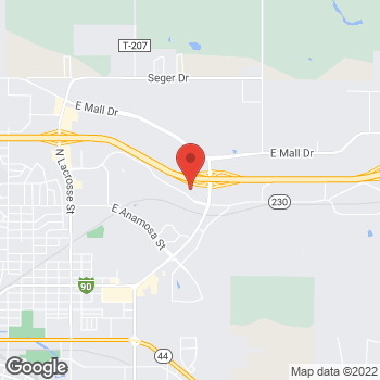 Map of Noodles & Company at 1734 Eglin Street, Rapid City, SD 57701