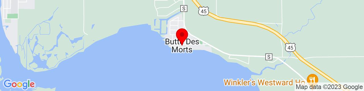 Google Map of 44.0994273, -88.6540001