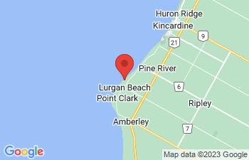 Map of Lurgan Beach