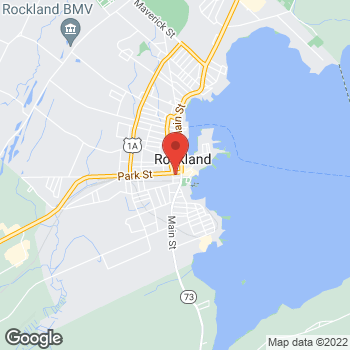 Map of Rite Aid at 28 Park Street, Rockland, ME 04841