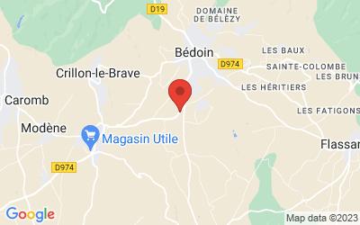 1710, Route De Carpentras, 84410 BÉdoin