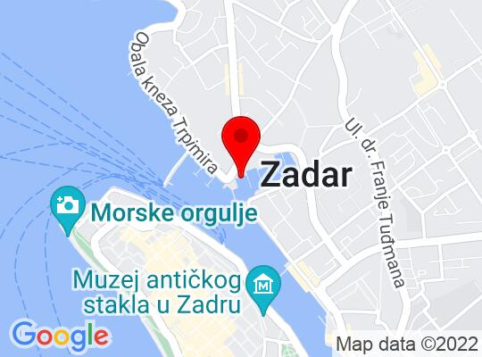 Google Map of Zadar
