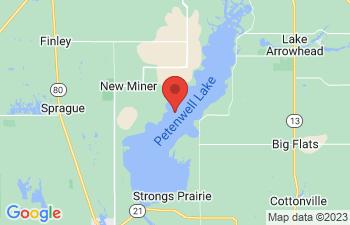 Map of Petenwell Lake