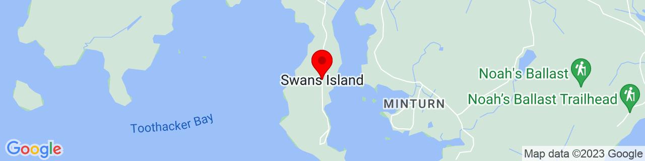 Google Map of 44.1454426, -68.4514104