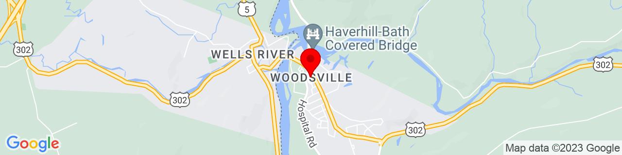 Google Map of 44.1512867, -72.0367187