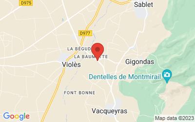1215 Route de Violès, 84190 Gigondas, France