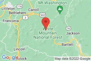 Map of White Mountains