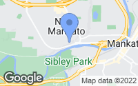 Map of North Mankato, MN