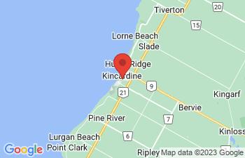 Map of Kincardine