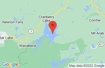 Map of Cranberry Lake