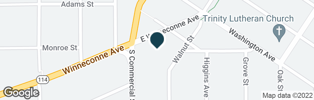 Google Map of500 S COMMERCIAL ST