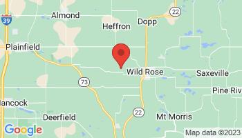 Map of Wisconsin Dells