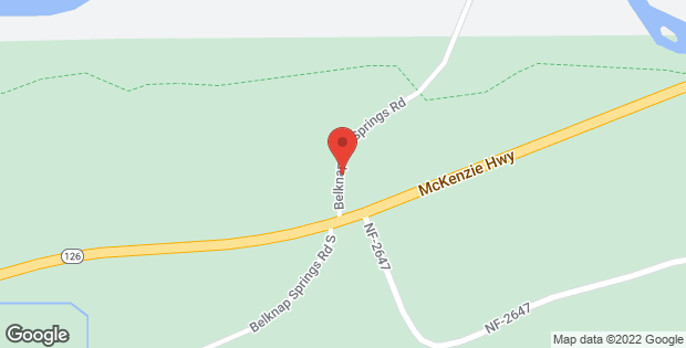 59292 N Belknap Springs RD Mckenzie Bridge OR 97413