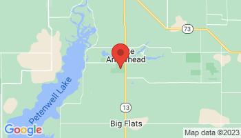 Map of Lake Arrowhead