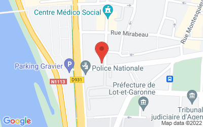 1 Rue Louis Vivent, 47000 Agen, France