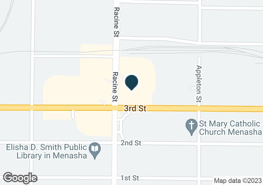 Google Map of305 RACINE ST