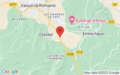 D938, 84110 Crestet