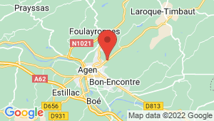 Carte de localisation du centre de contrôle technique BON ENCONTRE