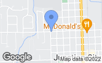 Map of Junction City, OR