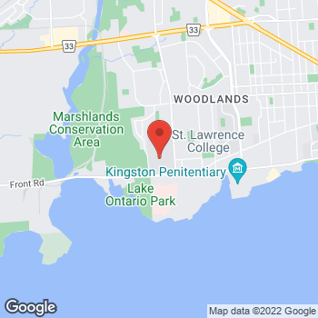 Map of Tim Hortons at 100 Portsmouth Ave, Kingston, ON K7L 5A6