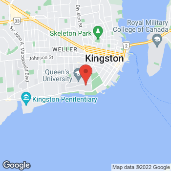 Map of Tim Hortons at 76 Stuart, Kingston, ON K7L 2V7