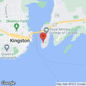 Map of Tim Hortons at 22 Amiens Ave, Kingston, ON K7K 7B4