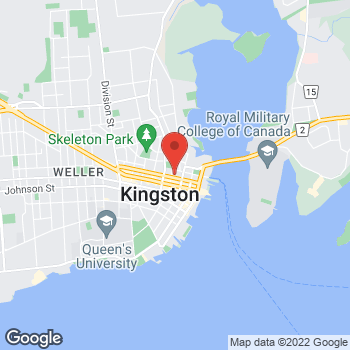 Map of Staples Print & Marketing Services at 105 Queen Street, Kingston, ON K7K 1A5