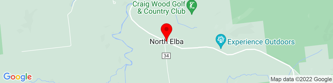 Google Map of 44.2433802, -73.9543146