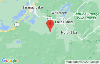 Map of Lake Placid