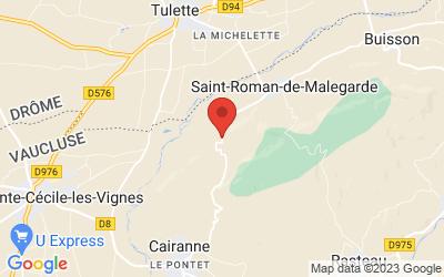Route de Cairanne, 84290 Saint-Roman-de-Malegarde, France