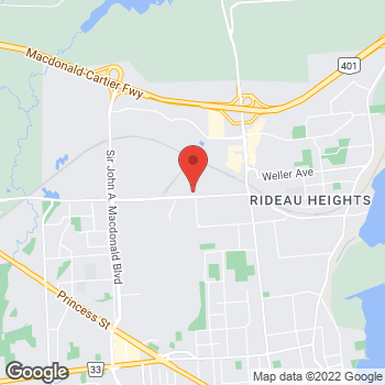 Map of Tim Hortons at 1177 John Counter Blvd, Kingston, ON K7K 6C7