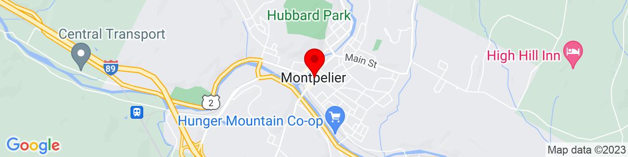 Google Map of 44.26, -72.57527777777777