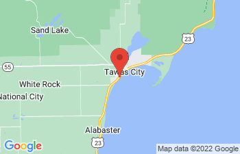 Map of Tawas City