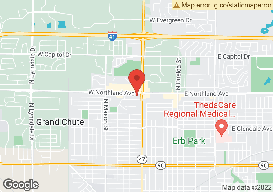 Google Map of 729 W NORTHLAND AVE
