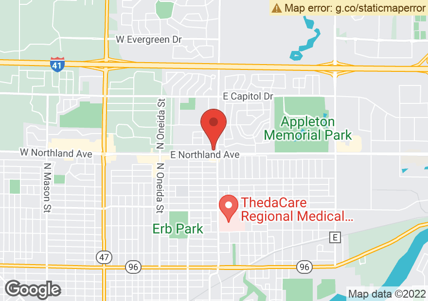 Google Map of 2803 N MEADE ST
