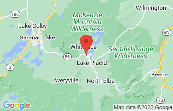 Map of Lake Placid