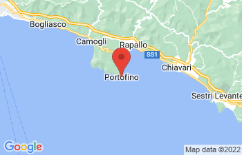 Map of Portofino